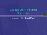 The Great Depression - The Great Crash PowerPoint