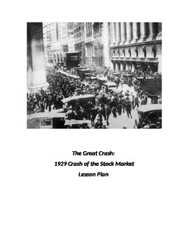 The Great Depression: Crash of 1929