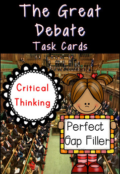 Critical Thinking Debate Task Cards