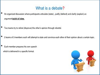 The Great Debate - Slideshow with Activities