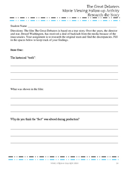 pictures the great debaters worksheet mindgearlabs Math Study Guide Answers Science Study Guide Answers