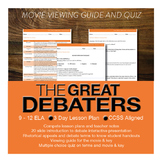 The Great Debaters Viewing Guide and Quiz