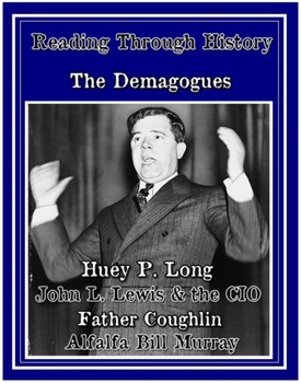 The Great Depression: 1930s Demagogues