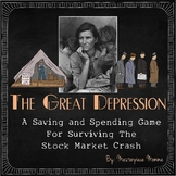 The Great Depression: A Saving and Spending Game