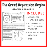 The Great Depression Begins: Graphic Organizer