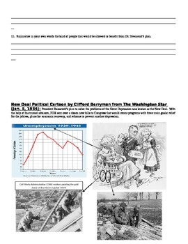 The Great Depression Common Core Text-based Answers Activity