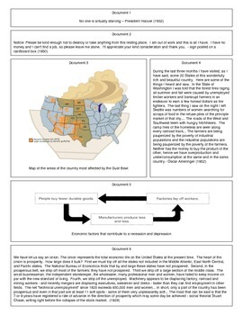 The Great Depression (Document Packet) (1 of 2)