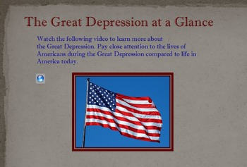 The Great Depression Flip Chart