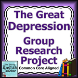 Great Depression Group Research Project