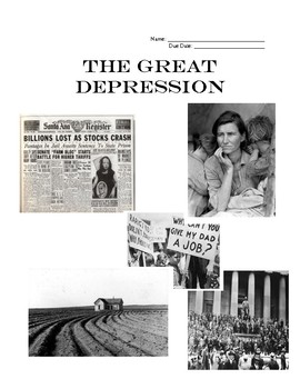 The Great Depression HW Packet