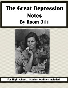 The Great Depression Notes