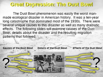 3 causes and effects of the dust bowl
