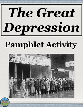 The Great Depression Pamphlet Activity