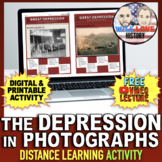 The Great Depression | Photo Gallery Walk | Distance Learn
