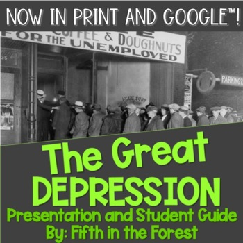 The Great Depression PowerPoint PLUS Student Guide