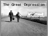 The Great Depression PowerPoint - U.S. History