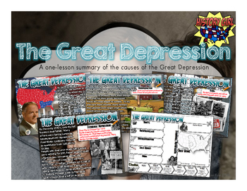 The Great Depression: PowerPoint and Student Infographic ...