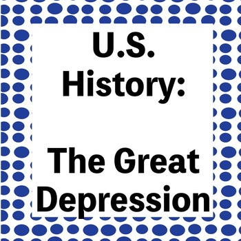 The Great Depression Powerpoint