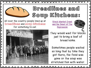 The Great Depression Powerpoint and Study Guide