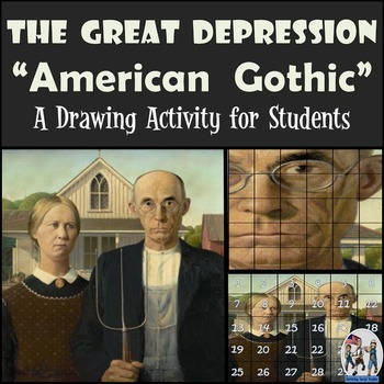 """The Great Depression - Recreating the """"American Gothic"""" Painting"""