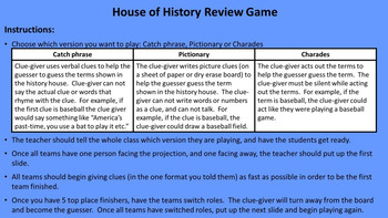 The Great Depression Review Game