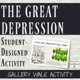 The Great Depression Activity Student Designed Gallery Walk