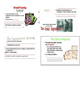 The Great Depression Student Handout page 2 PPT