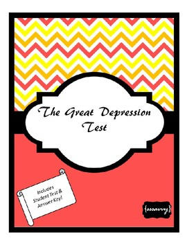The Great Depression Test