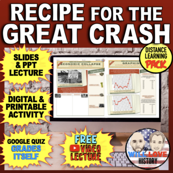 The Great Depression: The Great Crash Bundle