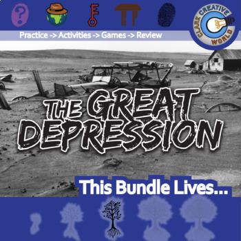 The Great Depression -- U.S. History Curriculum Unit Bundle