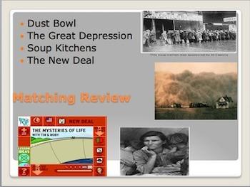 The Great Depression & U.S. Post WWI w/ Quiz SS5H4 SS5H5