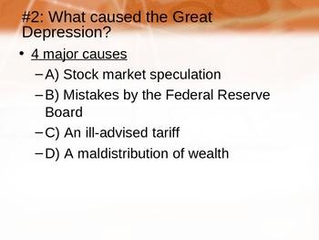 The Great Depression (Unit 16)