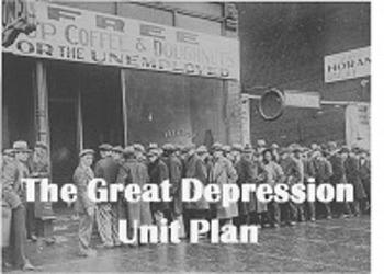 The Great Depression Unit Plan