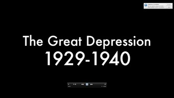 The Great Depression Video