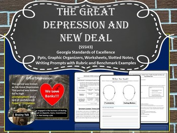 The Great Depression and New Deal SS5H3