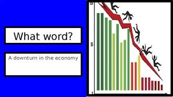 The Great Depression and New Deal Vocabulary Review