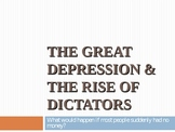 The Great Depression and Rise of Dictators