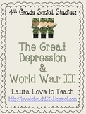 The Great Depression and World War II Printables