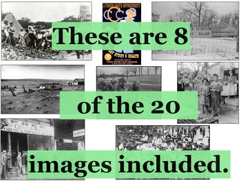 The Great Depression and the New Deal Primary Source Image Activity