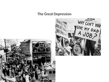 The Great Depression in World History