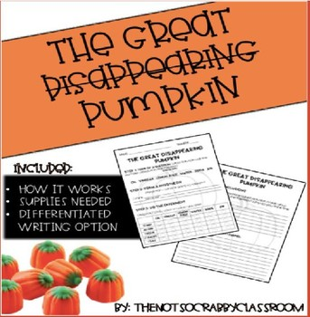 The Great Disappearing Pumpkin