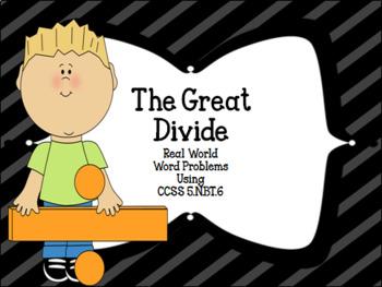 The Great Divide CCSS 5.NBT.6