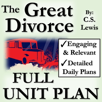 The Great Divorce Full Unit Plan