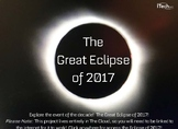 The Great Eclipse of 2017