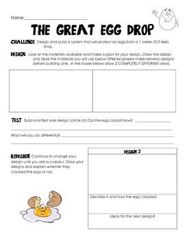 The Great Egg Drop Engineering STEM Challenge!