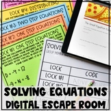 Solving Equations Digital Escape Room Review - Updated for