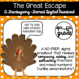 The Great Escape (A Thanksgiving-Themed Digital Breakout)