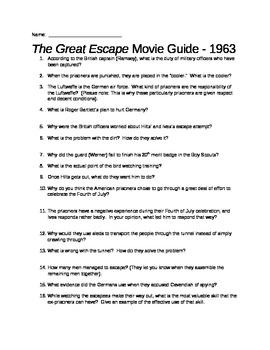 The Great Escape Movie Guide