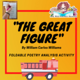 The Great Figure by William Carlos Williams Foldable Poetr