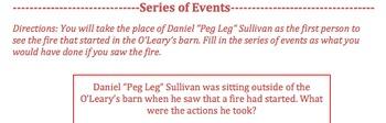 The Great Fire by Jim Murphy-- Various Novel Activities